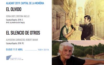 INICIAMOS EL CICLO DE CINE Y DOCUMENTALES EN EL TEATRO ARNICHES DE ALICANTE CON 'EL OLVIDO' Y 'EL SILENCIO DE OTROS'